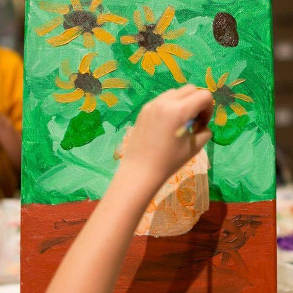 Kids Art Party at Kreeayt Art Studio in Blue Springs Missouri